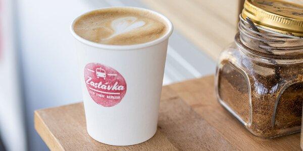 Skvelé kávy v pojazdnej kaviarni ZASTÁVKA!