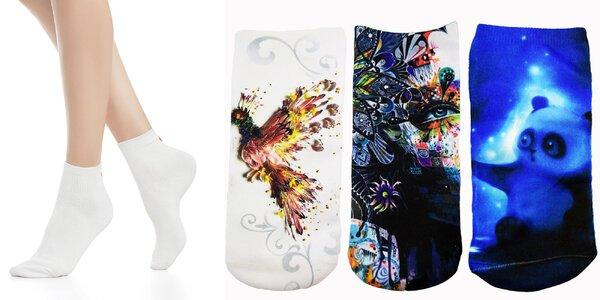 Dámske a detské 3D ponožky