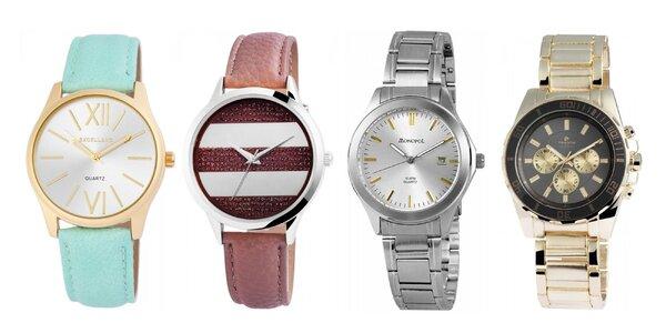 Elegantné dámske a pánske hodinky