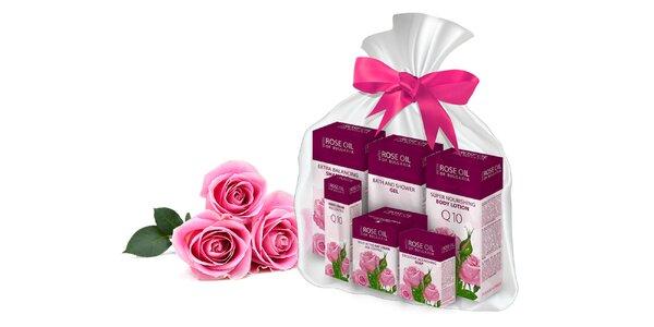Balíček prírodnej ružovej kozmetiky Biofresh - Regina Floris