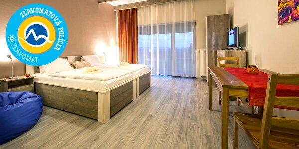 Novovybudovaný apartmánový komplex Čerešňový sad s wellness - super poloha!