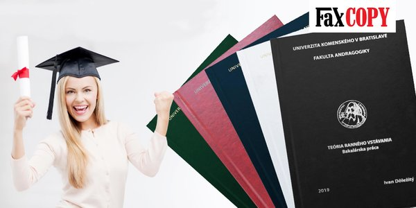 Viazanie diplomových a bakalárskych prác