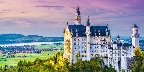 Zájazd na krásne bavorské zámky s ubytovaním v cene