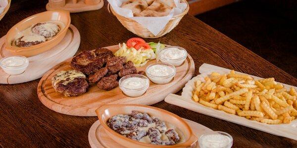 Balkánske špeciality v Prievozskej pivárni