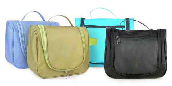 Praktické kozmetické tašky na cesty