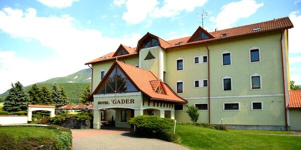 Pobyt na úpätí hôr Veľkej Fatry v rodinnom Hoteli Gader