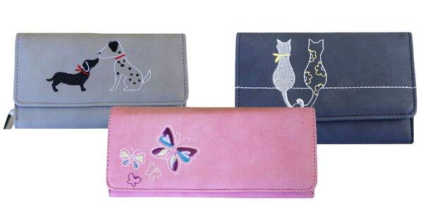 Dámske peňaženky s veselými motívmi