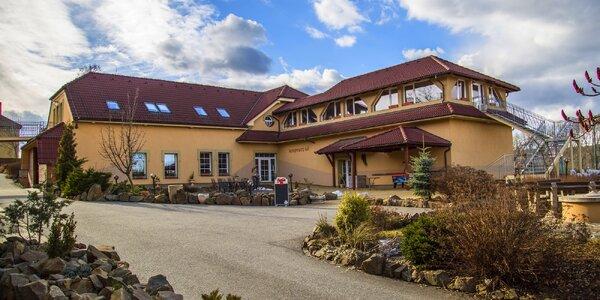 Pobyt v Moravskom krase: raňajky aj polpenzia, sauna a degustácia