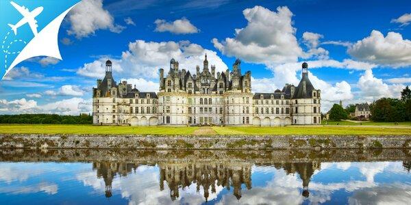 Zámky na rieke Loire - kráľovské rezidencie a záhrady vo Francúzsku