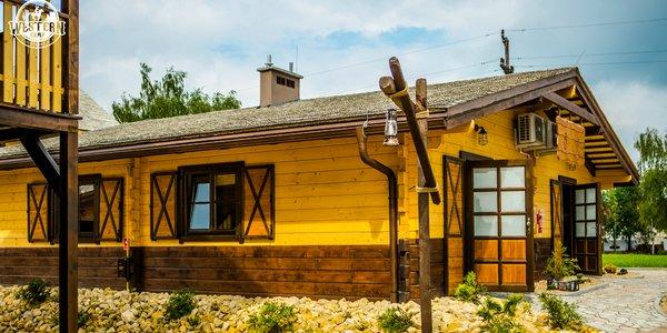 Westernové ubytovanie v typických prériových domčekoch
