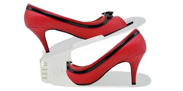 Ušetrite priestor so stojanmi na topánky!