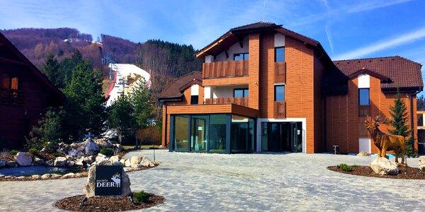 Pobyt v dovolenkovom raji vo Valčianskej doline v penzióne DEER