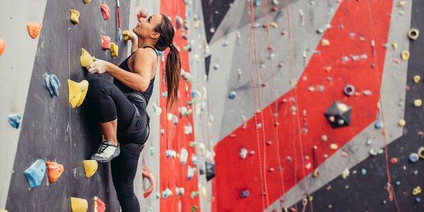 Vstup na lezeckú stenu či kurzy lezenia pre začiatočníkov