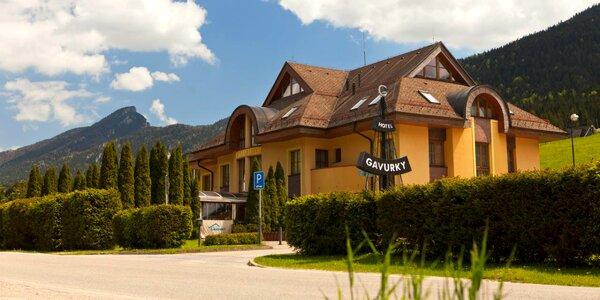 Pobyt v Terchovej v Hoteli Gavurky s privátnou saunou