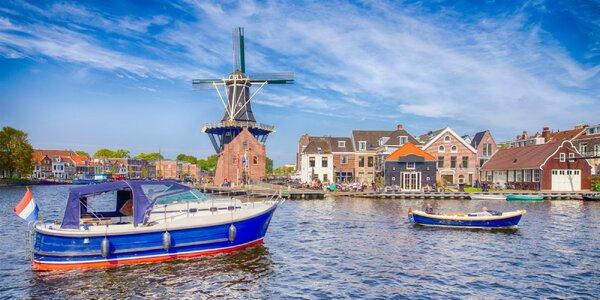 Potulky po Holandsku s kúpaním a s návštevou Amsterdamu
