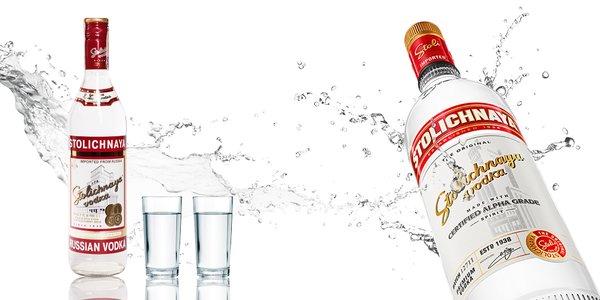 Vodka Stolichnaya, Carat Trnkovica a Černicovica, ale aj Georgian Brandy Black