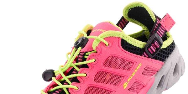 cbe08f31e5 Obuv Alpine Pro  dámske v ružovej farbe a unisex v čiernej farbe