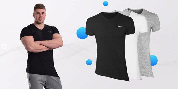 Kvalitné asymetrické pánske tričká