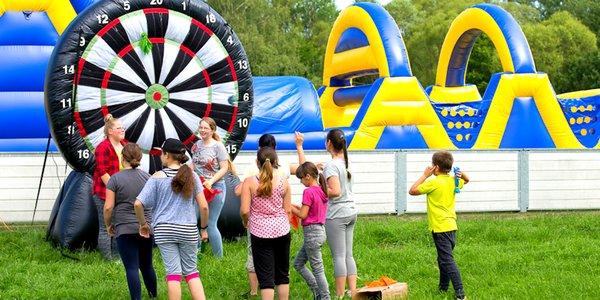 Športovo - zábavný tábor pre deti a mládež