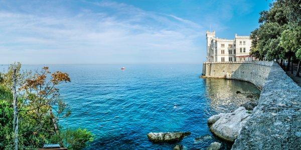 Nádherné Benátky, jazero Bled a zámok Miramare