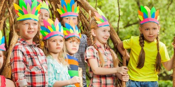Indiánske leto pre deti od 7 do 15 rokov vo Vyšných Ružbachoch alebo Drienici