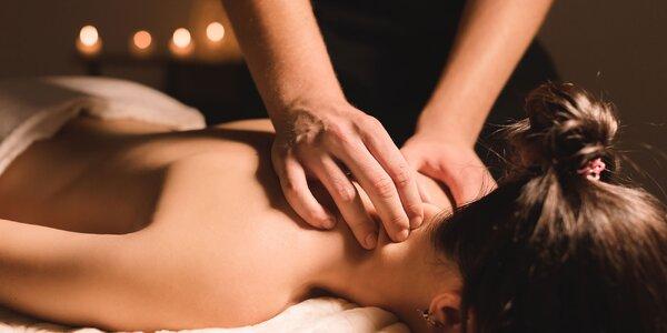 Klasická, aromatická či detoxikačná masáž