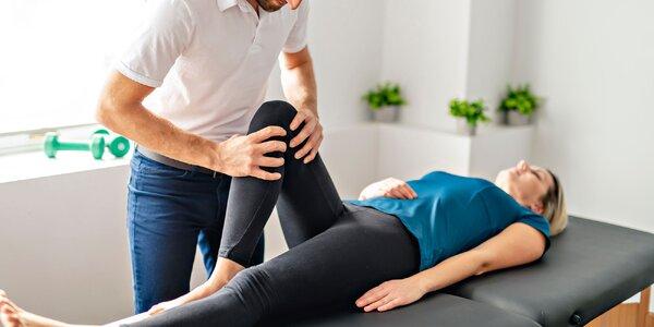 Vyšetrenie, cvičenie a rehabilitácia s fyzioterapeutom