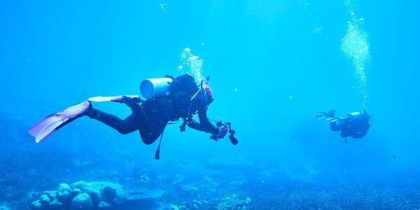 Skúšobný ponor Discover Scuba pre 1 osobu