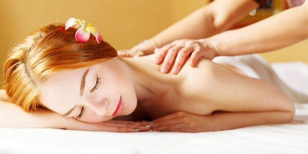 Relaxačná masáž chrbta so zábalom či masáž tváre