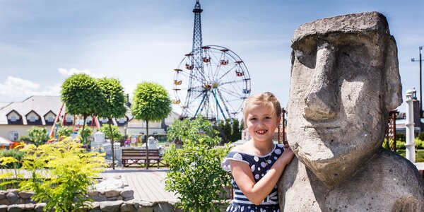 Vstup do poľského zábavného parku - Inwald park