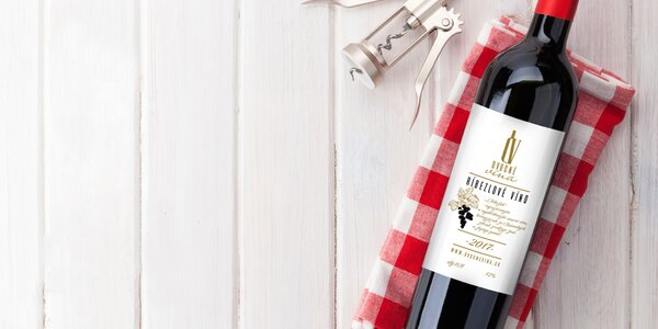 Svieže ovocné vína - 6 fliaš v balení