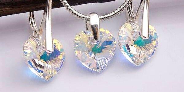 Súpravy šperkov Swarovski Crystallized Elements