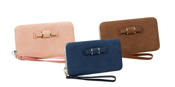 Štýlová dámska peňaženka a kabelka v jednom!