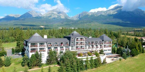 Vynovený hotel s výhľadom na Gerlach, neobmedzený wellness aj minizoo