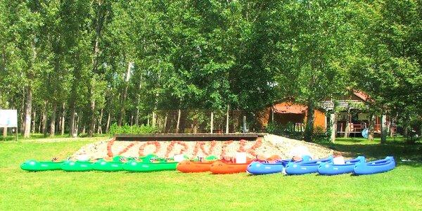 Splav s ubytovaním a stravou v najlepšom campe na Hrone