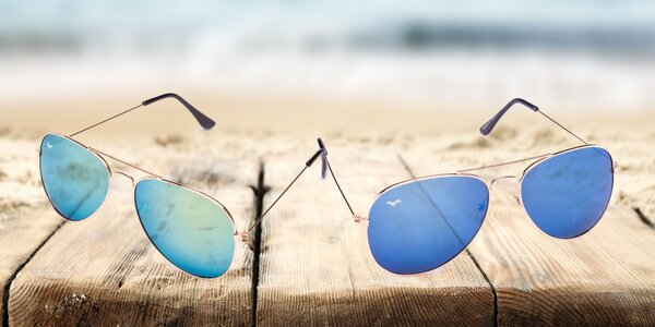 c058522ae Slnečné okuliare Pilot a Lennon: tmavé i zrkadlové sklá, unisex prevedenie
