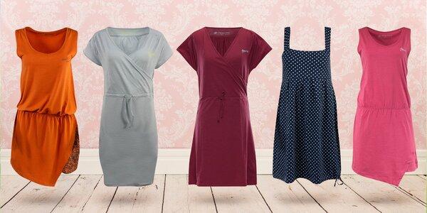 Dámske šaty Alpine Pro - na výber 8 druhov