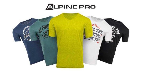 142a562bf319 Pánske bavlnené tričká Alpine Pro  S-XXXL