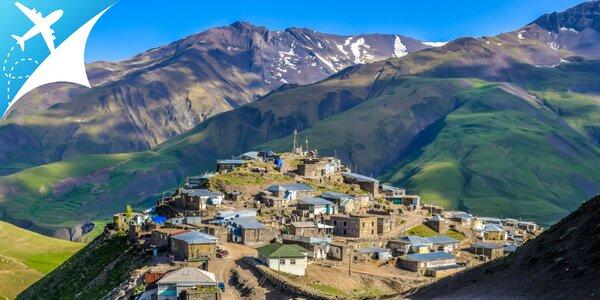 Azerbajdžan: Spoznajte krajinu večného ohňa za 9 dní
