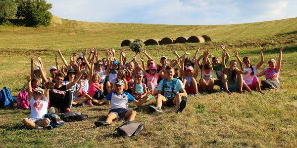 """Kreatívno dobrodružný letný tábor v Štiavnických vrchoch """"Fantázia nemá hranice"""""""
