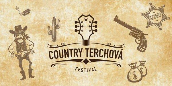Vstupenka na country festival s najväčšími hviezdami