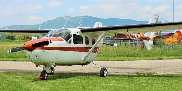 Nezabudnuteľný zážitok na lietadle CESSNA 337 SKYMASTER