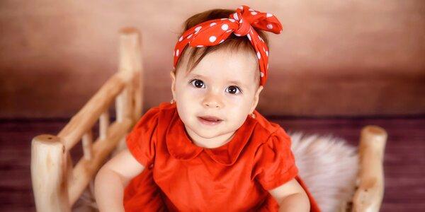 Profesionálne fotenie detí, tehuliek aj rodín