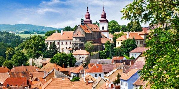 4 * relax v Třebíči: polpenzia aj vstupenky na pamiatky UNESCO