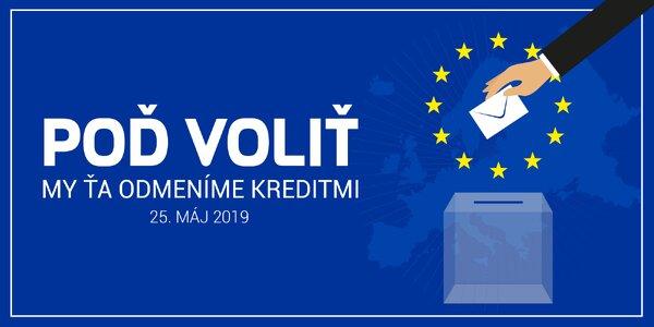 Už v sobotu 25.5. sú Eurovoľby. Poď voliť!