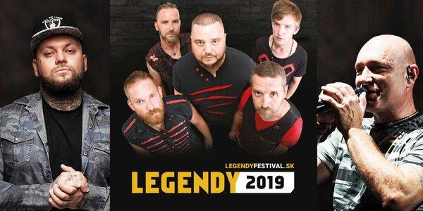 Vstupenka na 5. ročník obľúbeného rockového festivalu LEGENDY 2019