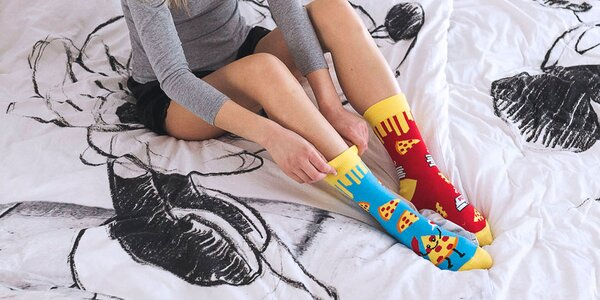 Veselé slovenské ponožky Hesty Socks