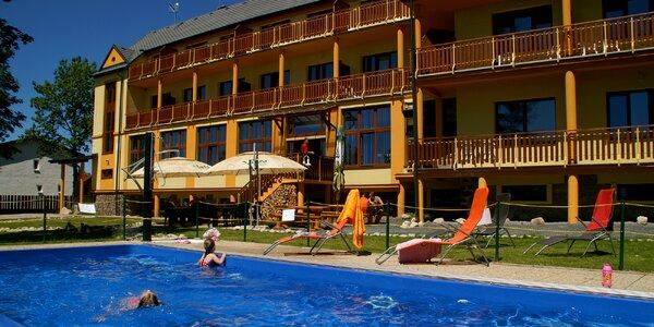 Letný oddych a relax pre dvoch priamo pod Gerlachom