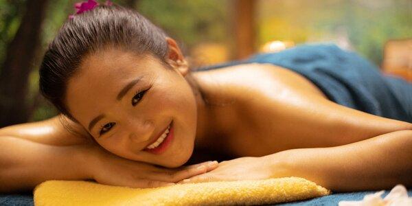 Thajská masáž alebo masáž podľa výberu. Aj u vás doma!
