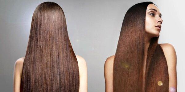 Predĺženie vlasov i výživný brazílsky keratín